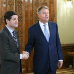 Președintele Klaus Iohannis l-a primit la Cotroceni pe asistentul Secretarului de Stat al SUA pentru Europa şi Eurasia, Wess Mitchell. Oficialul american: SUA urmăresc cu atenție evoluțiile din România