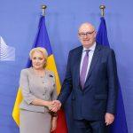 Premierul Viorica Dăncilă, întrevedere la Bruxelles cu comisarul european pentru agricultură și dezvoltare rurală, Phil Hogan: România nu este de acord cu plafonarea subvențiilor pentru fermieri