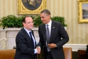 Hollande si Obama