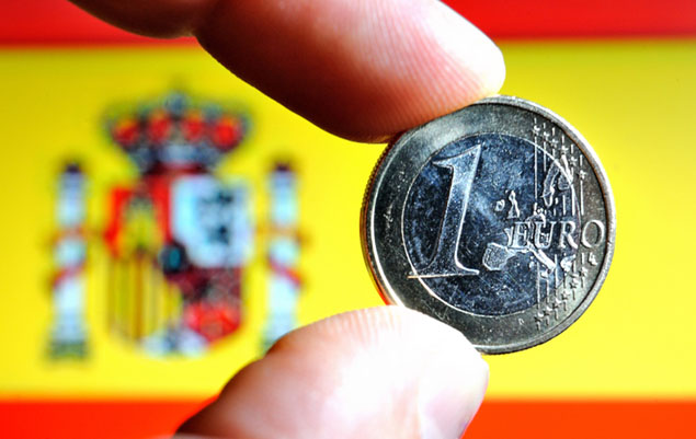 spain euro money