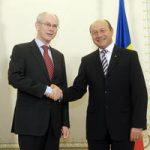 Întâlnire Traian Băsescu – Van Rompuy la Palatul Cotroceni