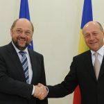 Deutsche Welle: Traian Băsescu s-ar înțelege mai bine cu Martin Schulz decât opozanții săi