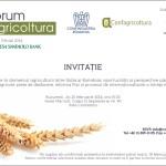 """""""FORUM AGRICOLTURA 2014"""" Colaborare in domeniul agriculturii intre Italia si Romania: oportunitati si perspective pana in 2020"""