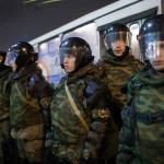 Trupele rusești au capturat o bază navală militară din Crimeea