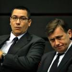Ponta: Decizia lui Crin este raţională, dar simt o mare tristeţe pentru un prieten