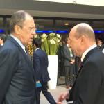 Corespondenţă specială – Summitul Securităţii Nucleare. Traian Băsescu, scurte discuţii cu ministrul rus de Externe, Serghei Lavrov
