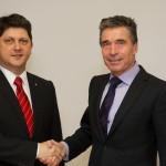 Titus Corlățean a avut luni o întrevedere cu Secretarul General al NATO