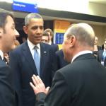 Corespondenţă specială – Summitul Securităţii Nucleare. Traian Băsescu a vorbit cu Barack Obama