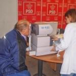 Consultatii oftalmologice gratuite de la Daciana Sarbu in campanie. Firma, vechi client al partidelor