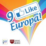 """""""9 ne place Europa!"""" Vineri, 9 mai, ora 11:00, sarbatorim in Piata Universitatii!"""