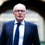Prim-vicepreședintele Comisiei Europene Frans Timmermans merge în Polonia pe 9 aprilie pentru a discuta reformele judiciare