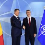 CORESPONDENȚĂ BRUXELLES Klaus Iohannis, invitație pentru șeful NATO la București. Stoltenberg: România este un exemplu pentru alte țări
