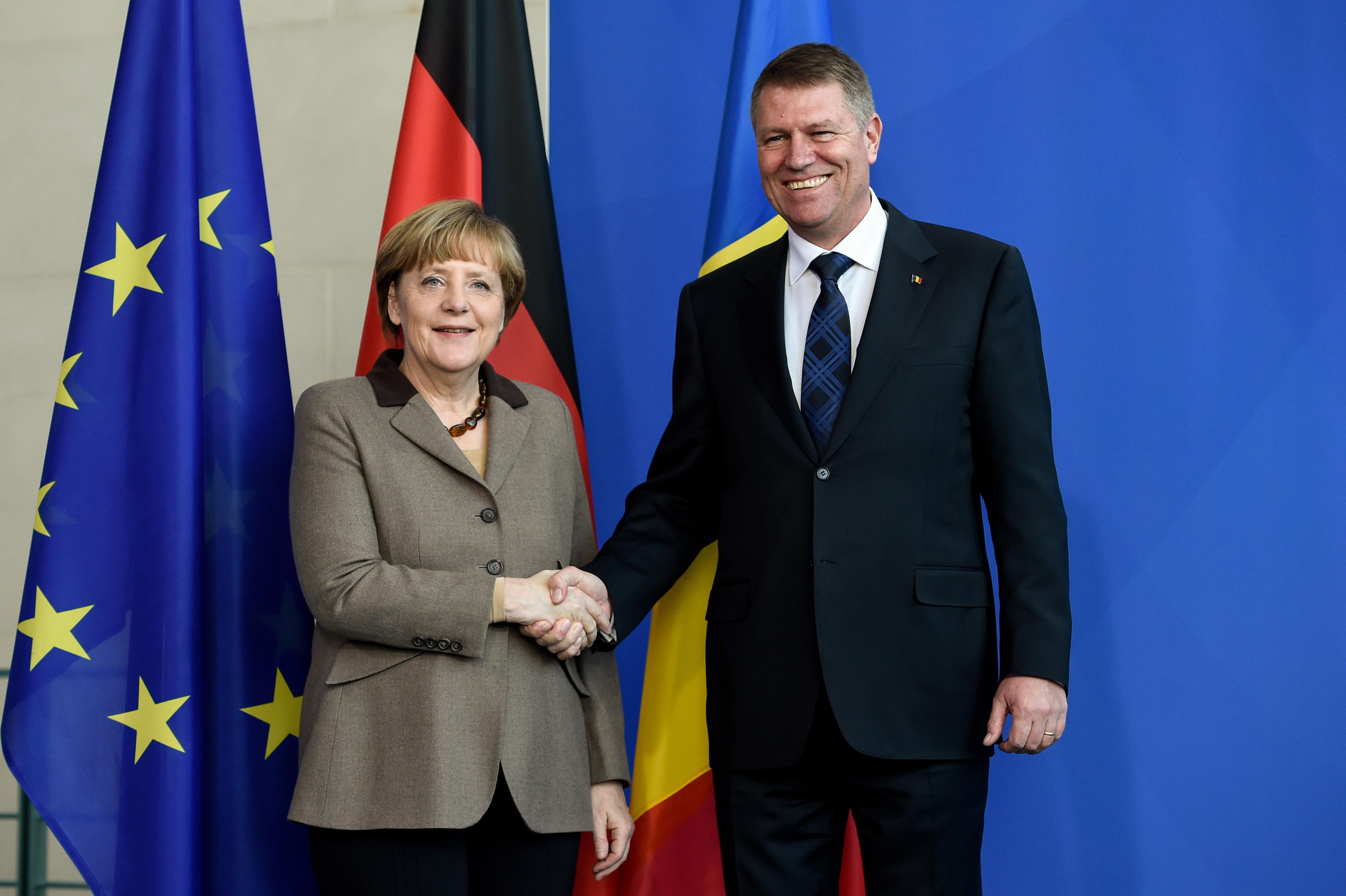 FOTO Vizita lui Klaus Iohannis în Germania, în IMAGINI ...