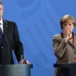 VIDEO. Corespondență de la Berlin. Iohannis: Contăm pe sprijinul Germaniei în aderarea la Schengen. Merkel: Nu pot să afirm nimic
