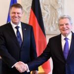 LIVE VIDEO. Corespondență de la Berlin. Klaus Iohannis, întâlnire cu Joachim Gauck: Contăm pe sprijinul german