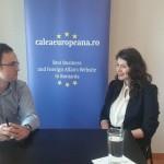"""VIDEO INTERVIU Denisa Bratu, coordonator de proiect Young Ambassadors Forum: """"Scopul nostru este să dezvoltăm o comunitate de tineri ambasadori și de oameni cu expertiză"""""""