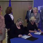 Comisarul Corina Creţu a semnat azi Programul Operaţional Regional în valoare de 8,2 mld euro