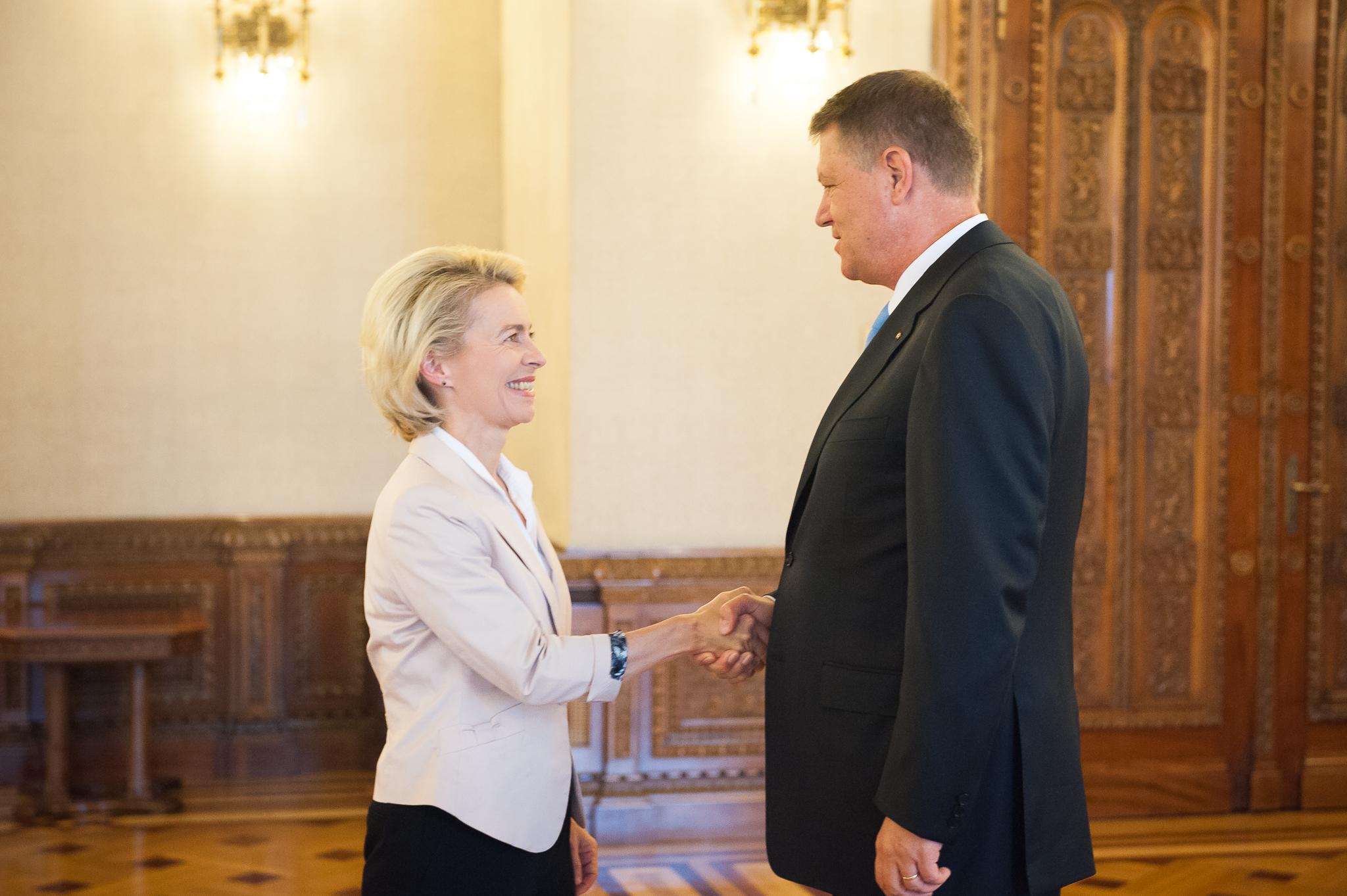 Preşedintele Klaus Iohannis, întâlnire cu ministrul german al ...