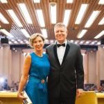 """Klaus Iohannis şi soţia, la concertul inaugural al Festivalului """"George Enescu"""""""
