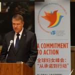 CORESPONDENȚĂ din New York. Klaus Iohannis, primul discurs la ONU: Fără soluţii adecvate, fiecare val de migraţie îl va depăşi pe cel anterior