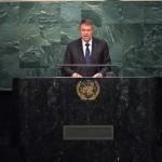 Klaus Iohannis, întâlniri bilaterale cu secretarul general ONU și omologi ai altor state cu ocazia participării sale la Adunarea Generală a Națiunilor Unite de la New York