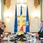 Klaus Iohannis a discutat despre fluxurile de migranți cu președintele Comisiei pentru Afaceri Europene din Bundestag