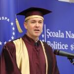 FOTO&VIDEO. SNSPA a acordat titlul de Doctor Honoris Causa profesorului Simon Hix