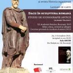 """Lansarea cărții """"Dacii în sculptura romană. Studiu de iconografie antică"""", 1 octombrie, ora 18:00"""