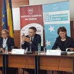 """VIDEO Dezbaterea """"Current Developments within the European Union"""" (Evoluţiile recente din cadrul Uniunii Europene)"""