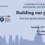 Comunitatea academică românească din Marea Britanie s-a reunit la University of Oxford pentru al VIII-lea an consecutiv