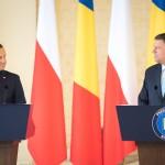 FOTO&VIDEO Întrevedere bilaterală Klaus Iohannis-Andrzej Duda, înaintea summit-ului regional de la București: Prezenţa NATO în această parte a Europei trebuie să fie intensificată