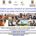 """VIDEO Eveniment de încheiere – """"O şansă pentru fiecare"""" – proiect cu fonduri europene ce a facilitat incluziunea socială a peste 200 de persoane"""