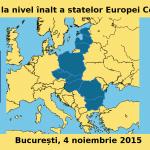 Summit-ul șefilor de stat din Europa Centrală și de Est începe azi la București