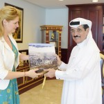 MEP Ramona Mănescu, meeting with the Minister of Culture, Arts and Heritage of Qatar