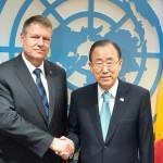 La 60 de ani de apartenență la ONU, Ban ki-moon face apel la România să contribuie la combaterea extremismului violent