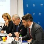 VIDEO&FOTO Lansarea președinției olandeze a UE la București: România este un partener care se află într-un progres continuu. Ministrul de Externe: Un spațiu Schengen cu România alături ar aduce mai multe beneficii