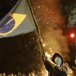 Proteste violente în Brazilia: Mii de oameni în stradă la Sao Paulo, reprimați de forțele de ordine