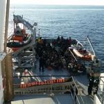 Peste 1.700 de persoane, salvate de la înec cu navele Poliţiei de Frontieră Române, de la începutul lui 2016