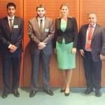 Ramona Mănescu a prezidat întâlnirea Grupului de prietenie UE-Qatar. Securitatea regională și relația cu Iranul, printre subiectele abordate
