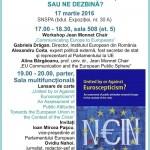 VIDEO Euroscepticismul ne unește sau ne dezbină? Center for EU Communication Studies din cadrul SNSPA a lansat un volum dedicat evaluării pozițiilor europene în contextul crizelor