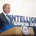 """VIDEO Bilanțul SRI pe anul 2015. Klaus Iohannis: """"Serviciul Român de Informaţii şi-a făcut datoria – pe deplin, cu eficienţă şi seriozitate"""""""