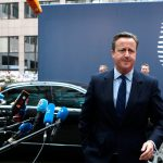 """IMAGINEA ZILEI David Cameron, la ultimul său Consiliu European: """"Poză de familie cu cei 28 de lideri ai statelor membre, inclusiv David Cameron"""""""