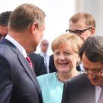 Klaus Iohannis continuă seria întâlnirilor la nivel înalt. Șeful statului român, întrevederi cu Emmanuel Macron și Angela Merkel