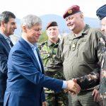 Premierul Dacian Cioloș în Kosovo și Bosnia și Herțegovina: Am auzit azi numai cuvinte de apreciere despre militarii români aflați în misiune la Sarajevo și Pristina