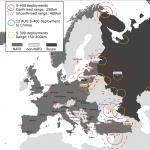 """Hărțile care arată cum Rusia își """"încordează"""" tehnica militară și poziția strategică: De la Oceanul Arctic și până în Estul Mediteranei, trecând prin Marea Baltică și zona Mării Negre"""