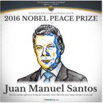 Preşedintele columbian Juan Manuel Santos a primit Premiul Nobel pentru Pace 2016