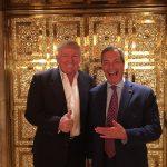 """Donald Trump consideră că Nigel Farage """"ar face o treabă fantastică"""" în funcția de ambasador al Marii Britanii în SUA"""