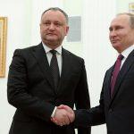Igor Dodon speră ca Vladimir Putin să vină în Republica Moldova anul viitor