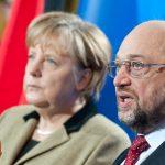 """Angela Merkel respinge propunerea lui Martin Schulz privind """"Statele Unite ale Europei"""" înainte de a începe negocierile pentru o nouă mare coaliție în Germania"""