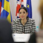Vicepremierul pentru parteneriate strategice, Ana Birchall, participă la Forumul european al liderilor pentru guvernare deschisă de la Milano